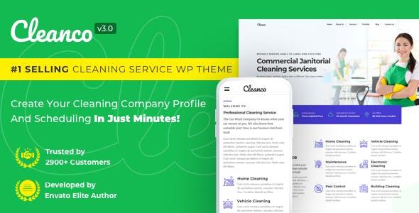 Cleanco v3.0.0 — Cleaning Company WordPress Theme