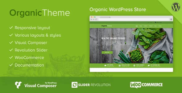 Organic v1.1.6 — Farm & Food Business WordPress Theme
