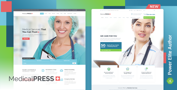MedicalPress v3.0.0 — Health and Medical WordPress Theme