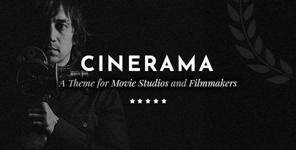 Cinerama v1.3.1 — A Theme for Movie Studios and Filmmakers