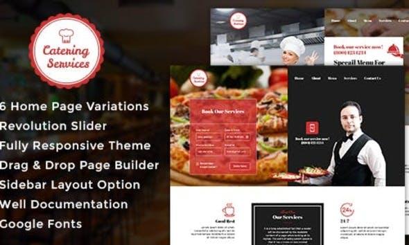 Catering v1.1 — Chef, Restaurant WordPress Theme