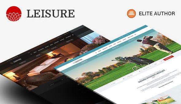 Hotel Leisure v2.1.8 — Hotel WordPress Theme