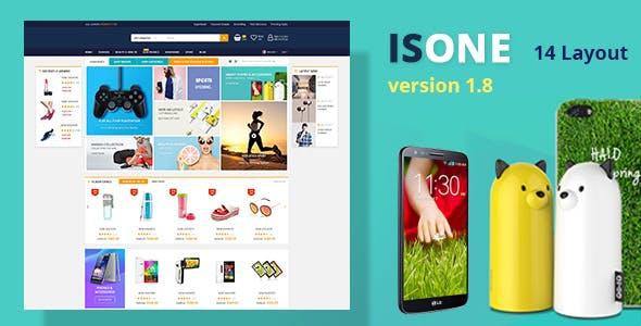 IsOne Store v1.8 — RTL WooCommerce Theme For Digital