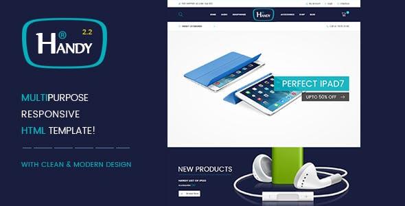Handy Shop v2.2 — Digital RTL Responsive WooComerce WordPress Theme