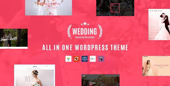 Wedding v1.5 — All in One WordPress Theme