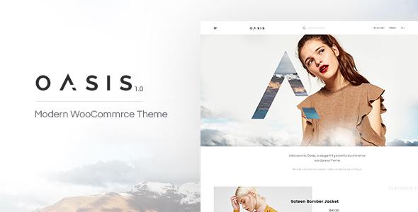 Oasis v1.1.8 — Modern WooCommerce Theme