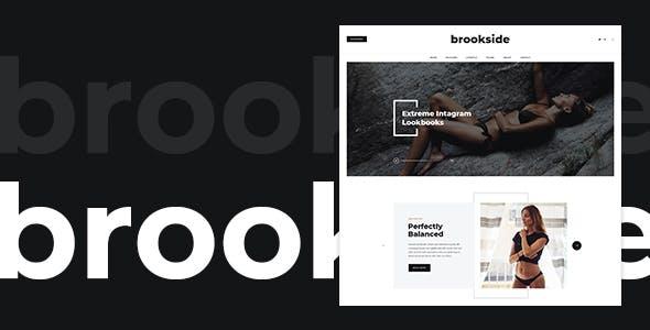 Brookside — Blog PSD Template