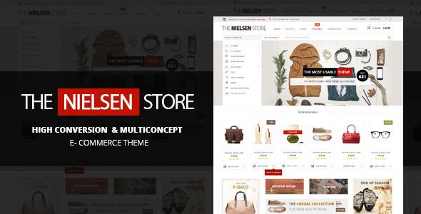 Nielsen v1.8.0 — The ultimate e-commerce theme