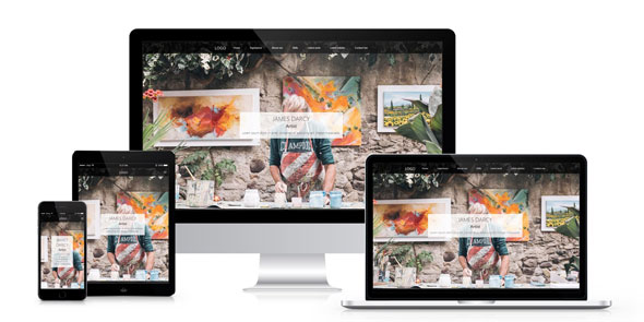 Artist — Person Page Responsive Template
