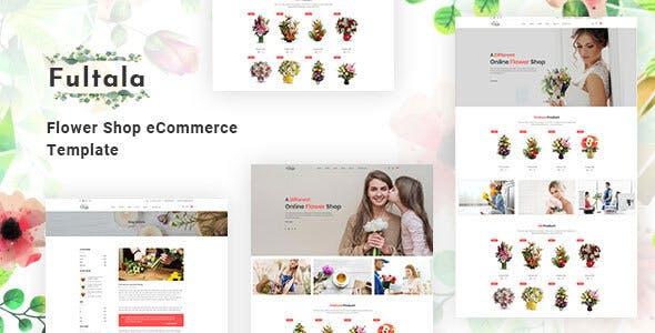 Fultala v1.0 — Flower Shop eCommerce Template