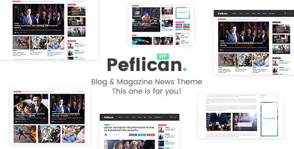 Peflican v2.0.0 — A Newspaper and Magazine WordPress Theme