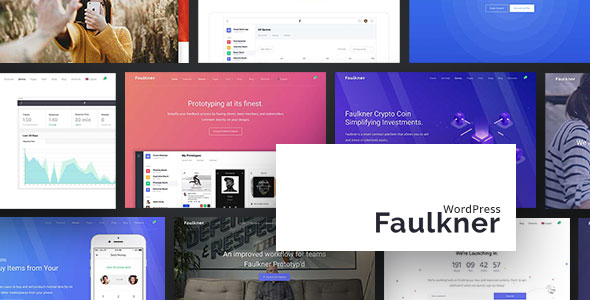 Faulkner v1.1.11 — Responsive Multiuse WordPress Theme