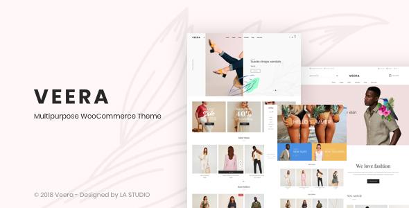 Veera v1.0.7 — Multipurpose WooCommerce Theme