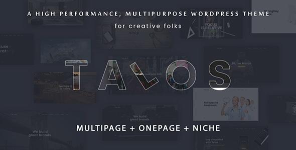 Talos v1.3.0 — Creative Multipurpose WordPress Theme