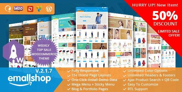 EmallShop v2.1.7 — Multipurpose WooCommerce Theme