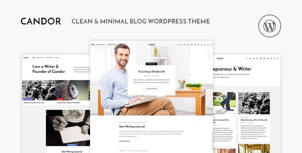 Candor v1.1.3 — Responsive WordPress Blog Theme
