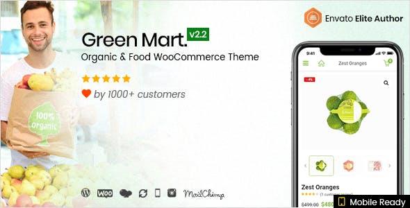 GreenMart v2.2.4 — Organic & Food WooCommerce Theme