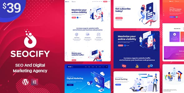 Seocify v1.6 — SEO And Digital Marketing Agency