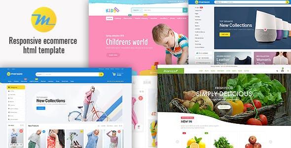Marazzo — Responsive Ecommerce HTML5 Template