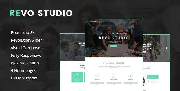 Revo Studio v1.1.1 — Multipurpose WordPress Theme