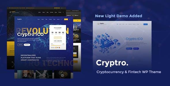 Cryptro v1.3.2 — Cryptocurrency, Blockchain, Bitcoin