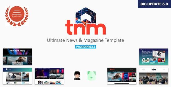 The Next Mag v5.0 — Ultimate Magazine WordPress Theme
