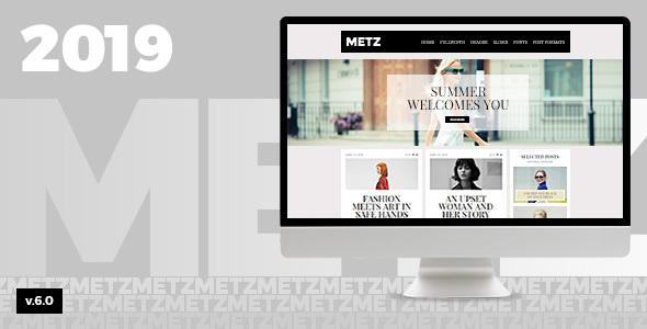 Metz v6.3 — A Fashioned Editorial Magazine Theme
