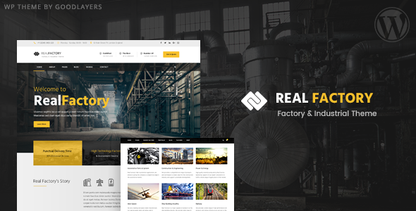 Real Factory v1.3.2 — Factory / Industrial / Construction