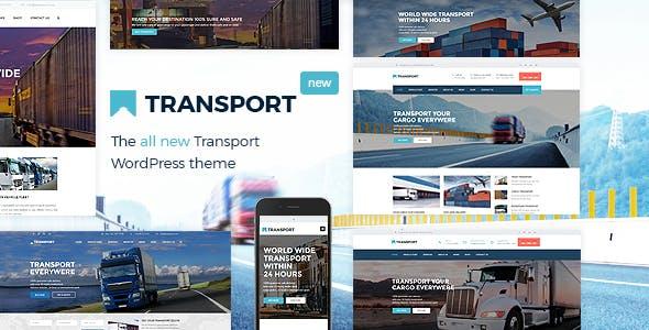 Transport v3.1.5 — WP Transportation & Logistic Theme