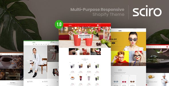Sciro v1.0 — Multi-Purpose Responsive Shopify Theme