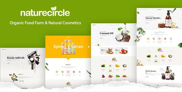NatureCircle v1.0.4 — Organic Theme for WooCommerce