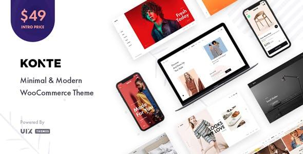 Konte v1.2.1 — Minimal & Modern WooCommerce WordPress Theme