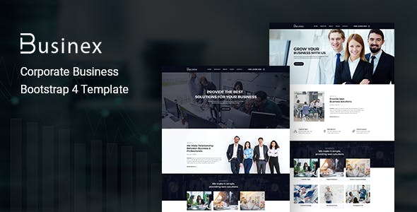 Businex v1.0 — Corporate Business Bootstrap4 Template