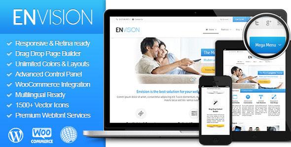Envision v2.9.1 — Responsive Retina Multi-Purpose Theme