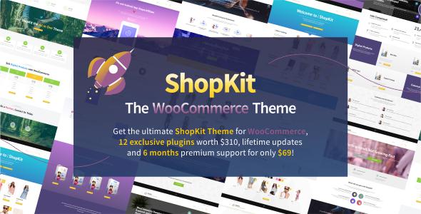 ShopKit v1.6.0 — The WooCommerce Theme