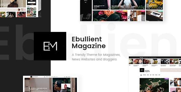 Ebullient v1.2 — Modern News and Magazine Theme