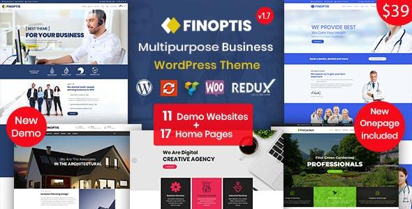 Finoptis v1.7 — Multipurpose Business WordPress Theme