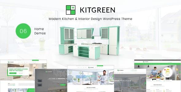 KitGreen v1.2.0 — Modern Kitchen & Interior Design