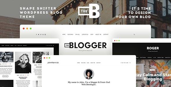 TheBlogger v1.9.5 — A WordPress Blogging Theme