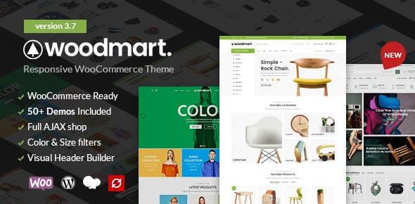 WoodMart v3.7.0 — Responsive WooCommerce Theme