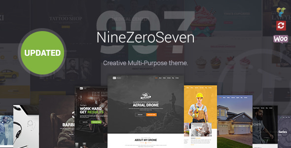 907 v4.1.7 — Responsive Multi-Purpose Theme