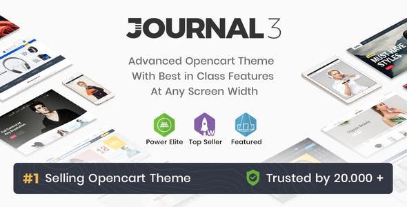 Journal v3.0.34 — Advanced Opencart Theme