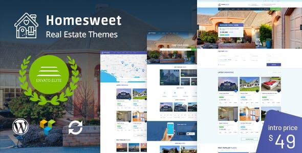 HomeSweet v1.2 — Real Estate WordPress Theme
