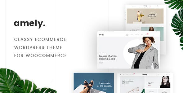 Fashion Amely v2.2.3.2 — Fashion Shop WordPress Theme for WooCommerce