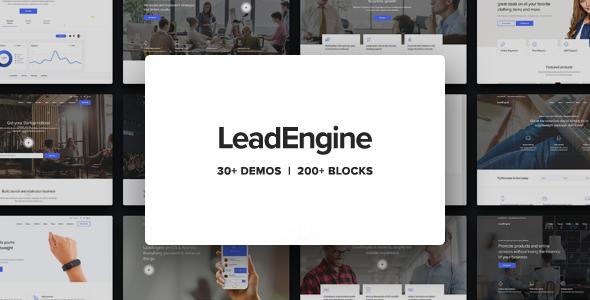 LeadEngine v1.7.2 — Multi-Purpose Theme with Page Builder