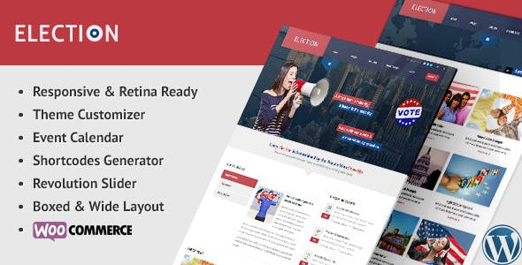 Election v1.2.0 — Political WordPress Theme