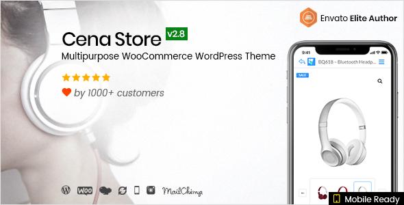 Cena Store v2.8.5 — Multipurpose WooCommerce Theme