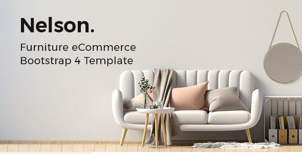 Nelson v1.0 — Furniture eCommerce Bootstrap 4 Template