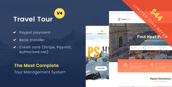 Travel Tour v4.0.0 — Tour Booking, Travel Booking Theme