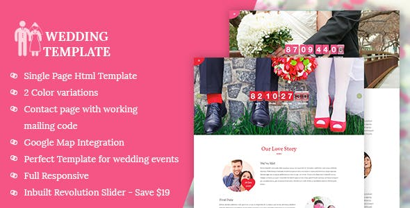 My Wedding — Wedding Invitation Template